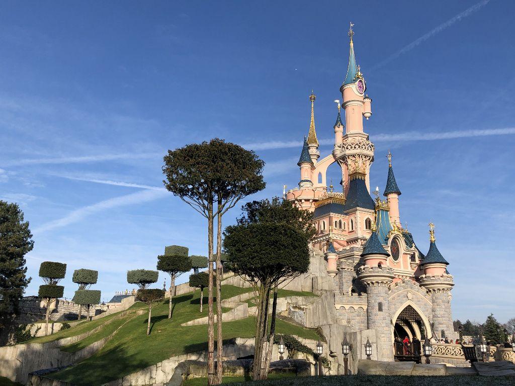 Château à Disneyland