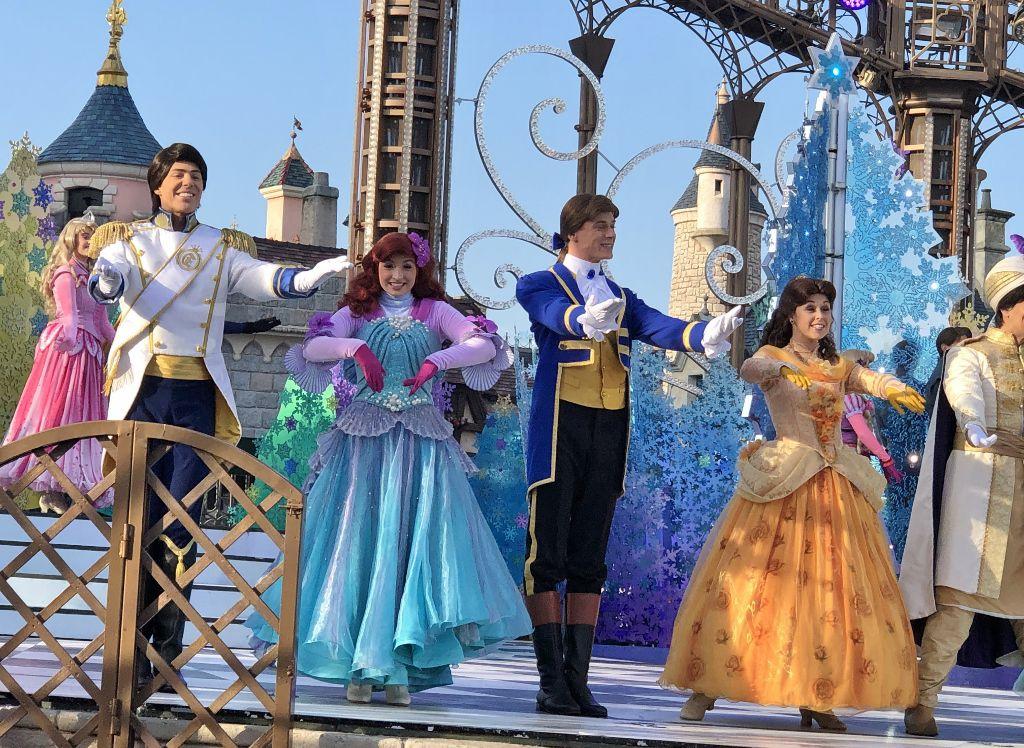 La valse des princesses Disney