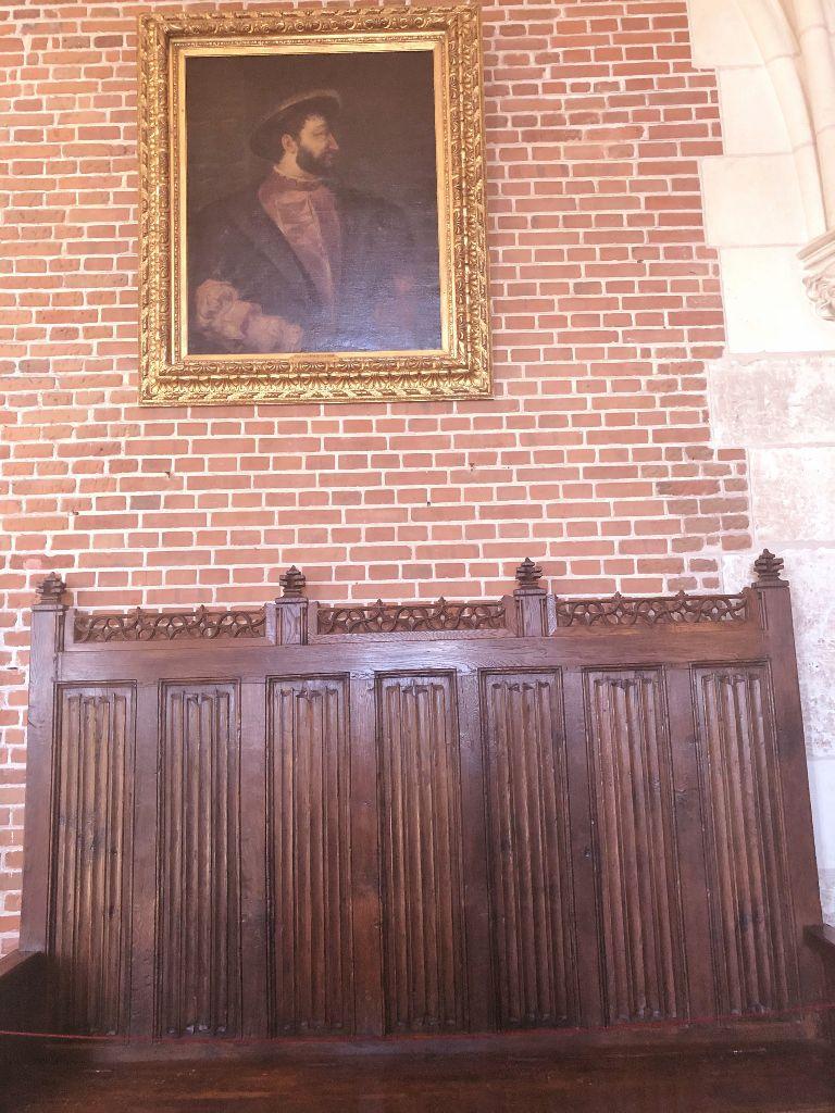 Château Amboise , le mobilier
