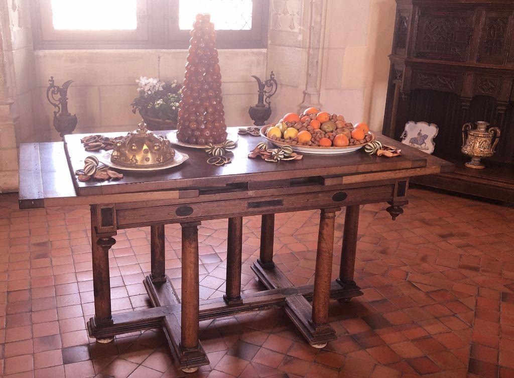 Chateau Amboise l'intérieur