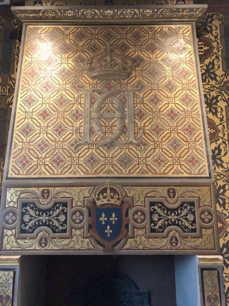 Château de Blois, les cheminées