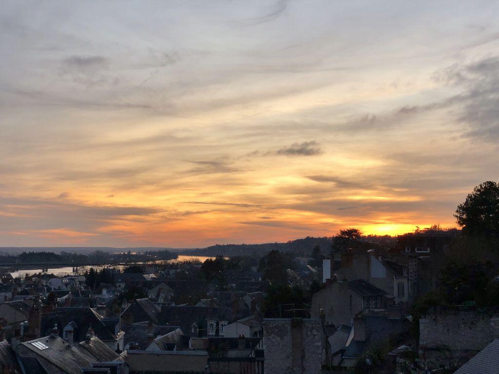 Blois vue du château