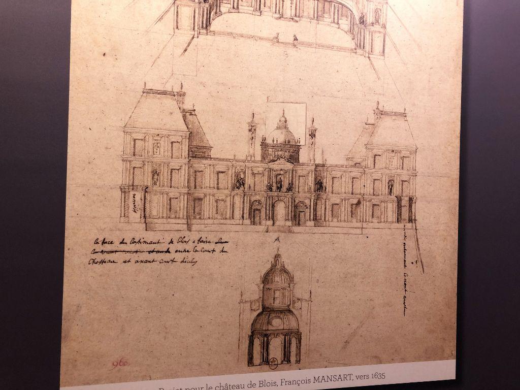 Château de Blois, les plans