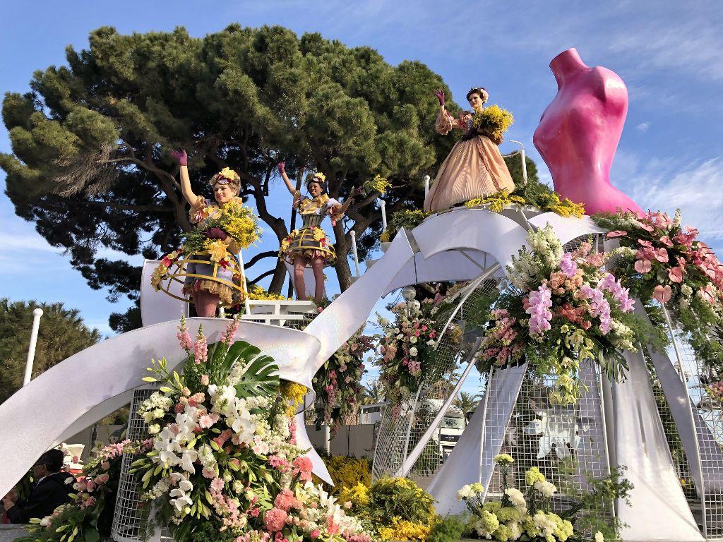 Carnaval Nice parade de fleurs