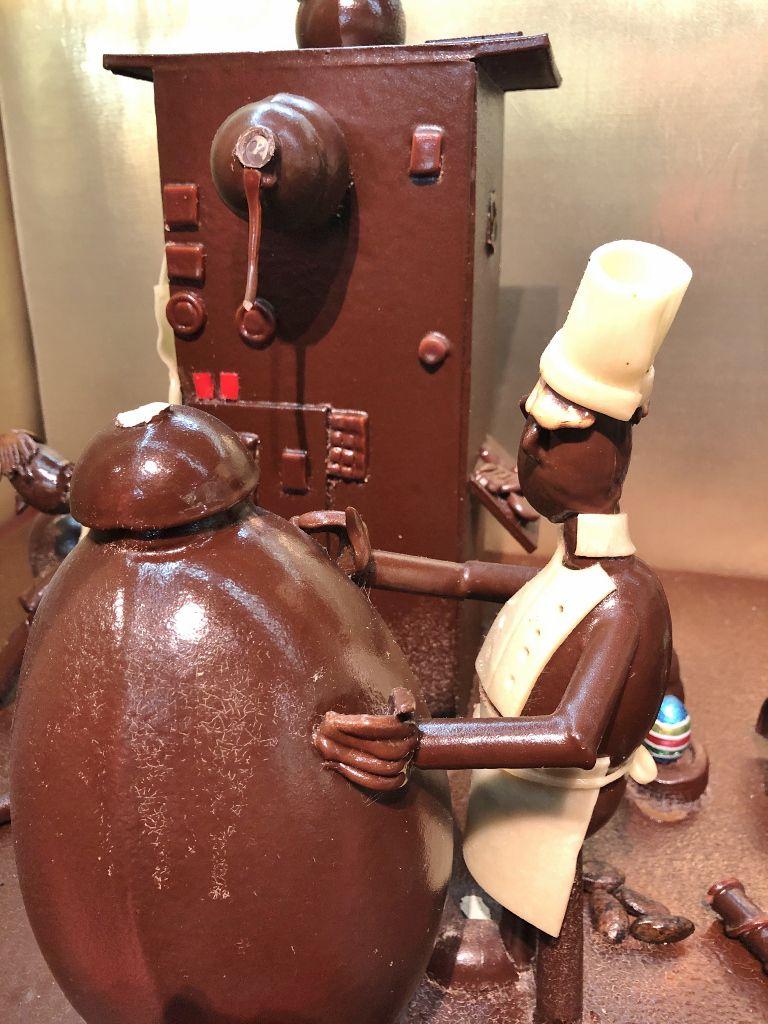 En chocolat et en nougat à Montélimar