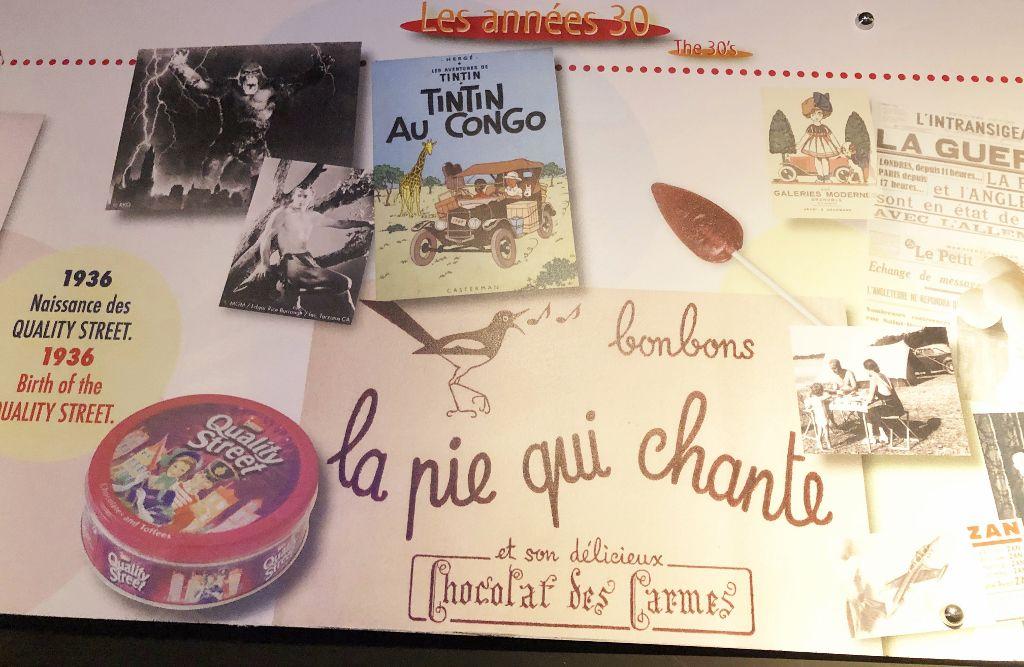Un siècle de bonbons - Montélimar