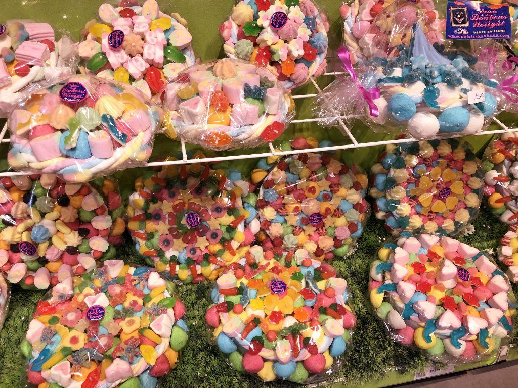 Shopping au palais des bonbons
