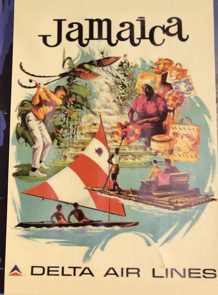 Affiches vintage compagnies aériennes