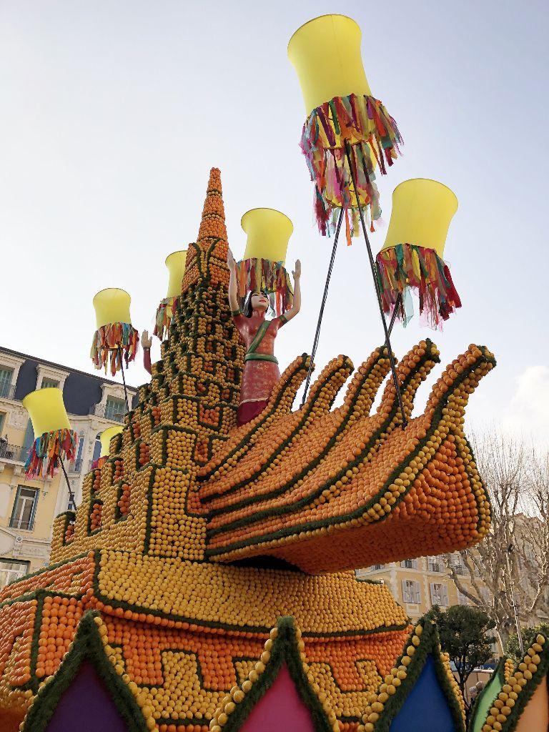 Fête des lanternes Chine Menton