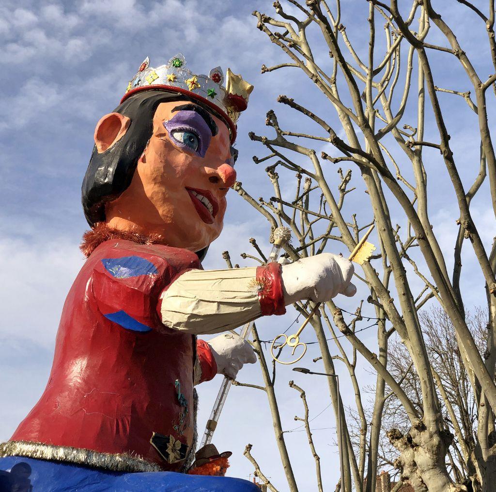 Chars du carnaval Chalon sur Saône