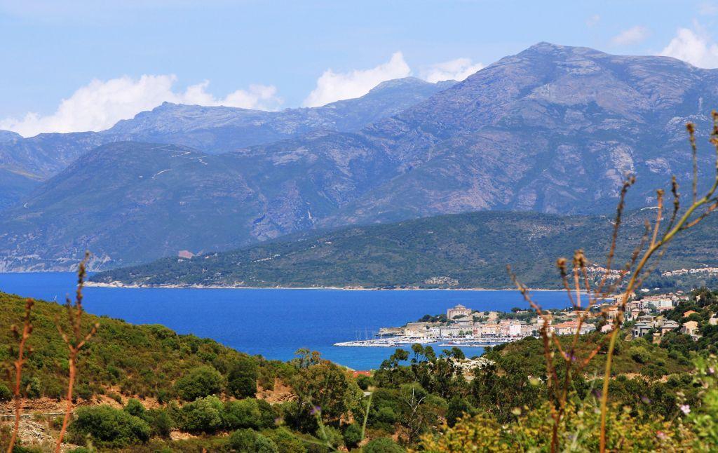 Cap corse : doigt de la Corse