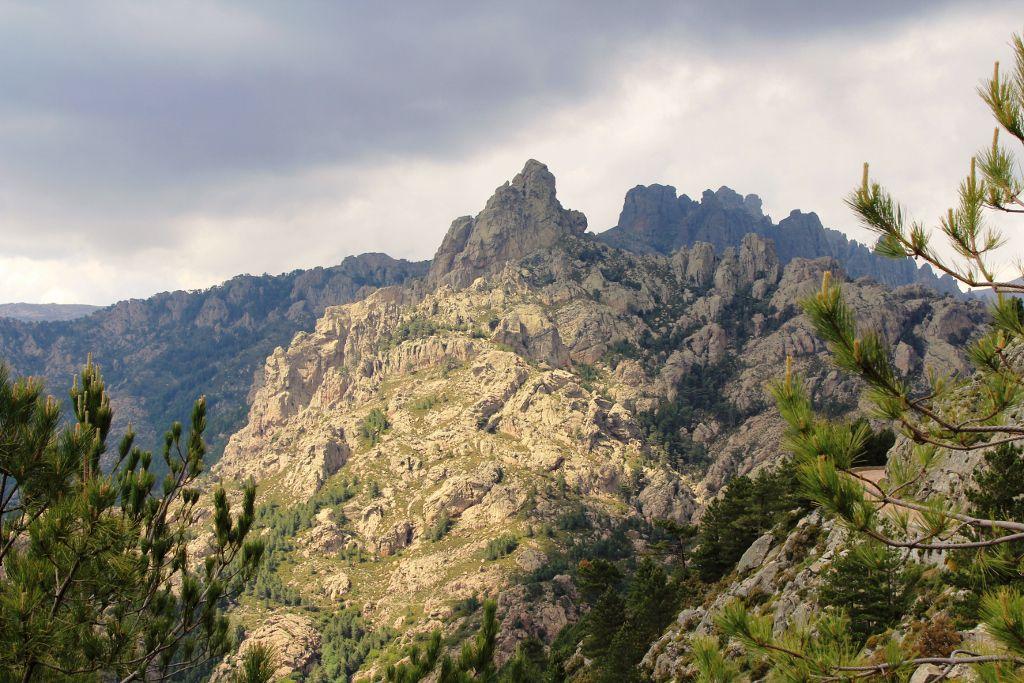 Roches de la Corse du Sud