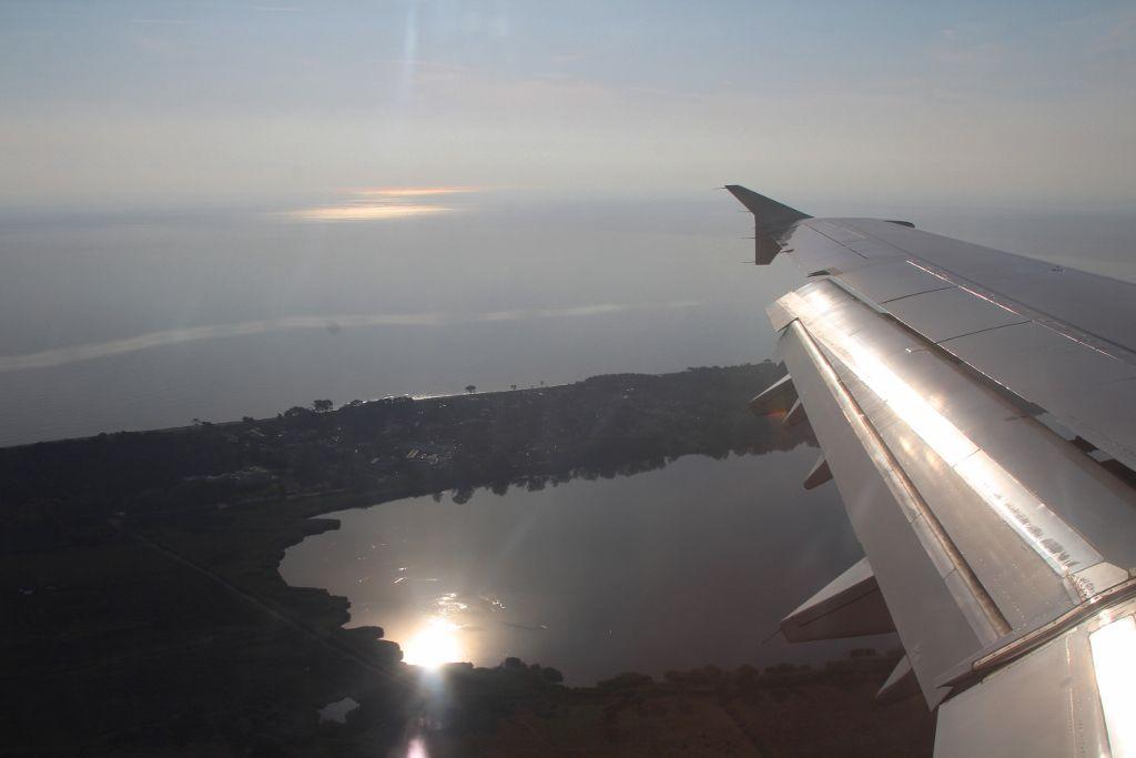 Coucher soleil dans le ciel Corse