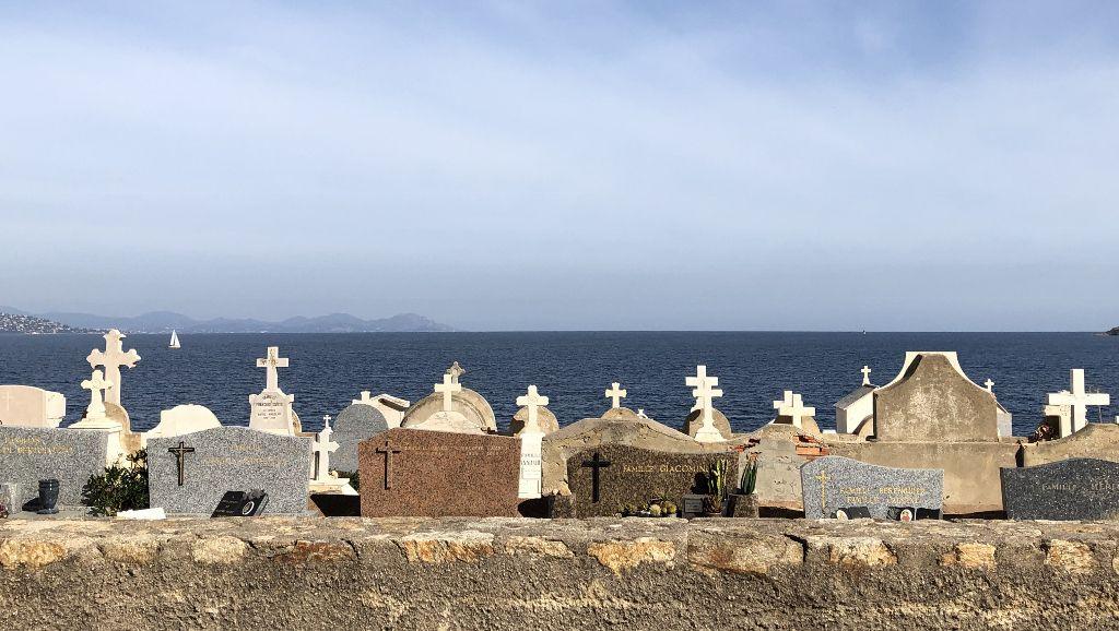 Cimetière marin St Tropez