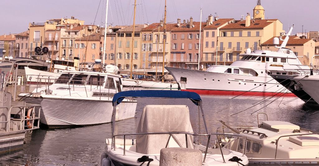 Saint Tropez le port