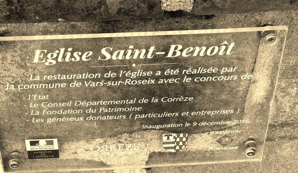 Eglise Vars sur Roseix