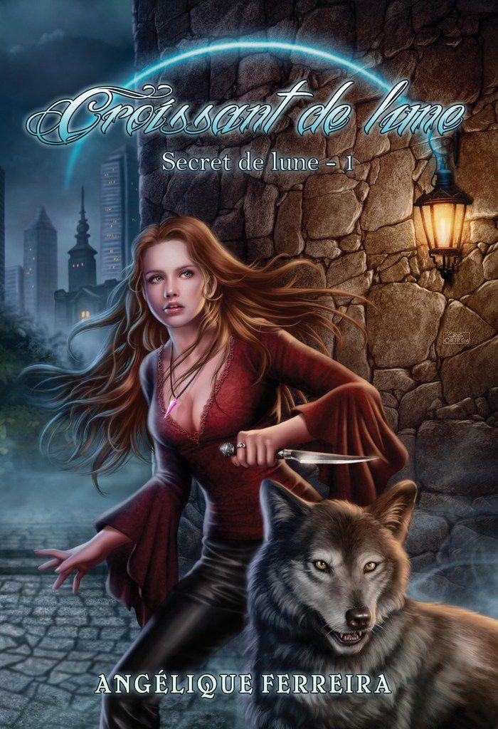 Série Secret de Lune - Croissant de Lune - tome 1 - de Angélique FERREIRA