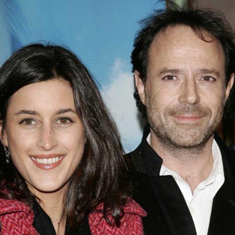 avec sa femme Pauline Levêque