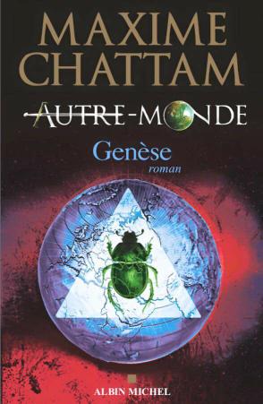 Voici la couverture du prochain livre de Maxime Chattam qui sort en novembre 2016