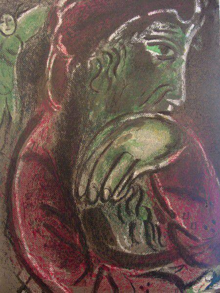 Job  par Marc Chagall.
