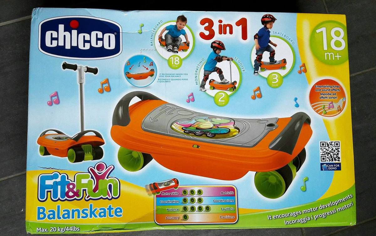 Skate 3 en 1 Fit and Fun par Chicco