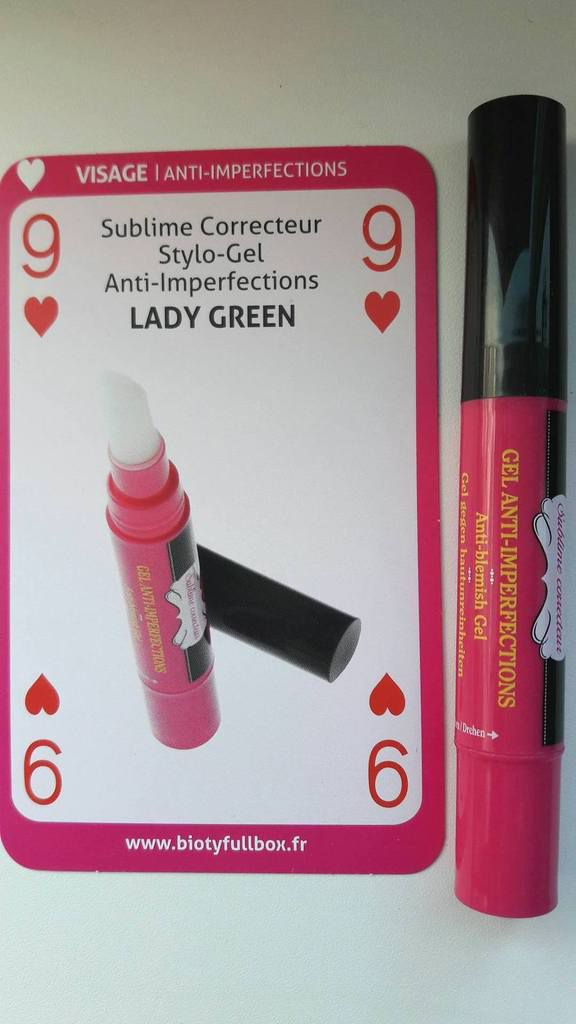 Stylo gel anti-imperfections par Lady Green