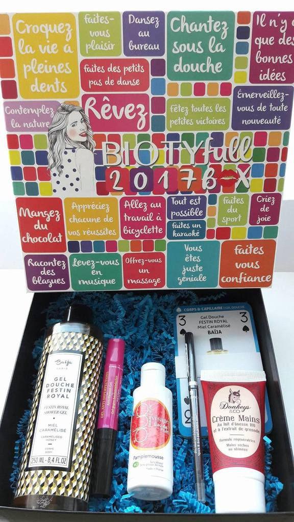 Biotyfull Box - janvier 2017