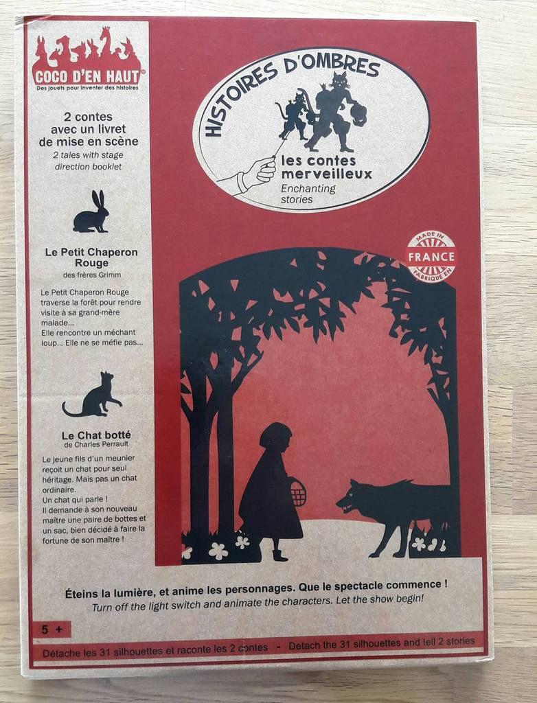 Coco d'en haut - pochette à histoires - contes merveilleux