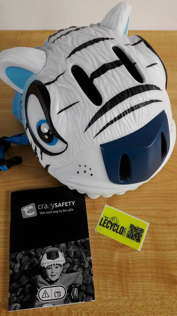 Casque vélo tigre Crazy Safety