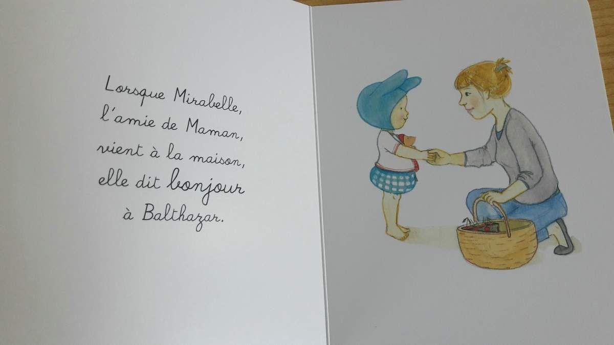 Extraits de Bonjour Au revoir - Bébé Balthazar - Hatier Jeunesse