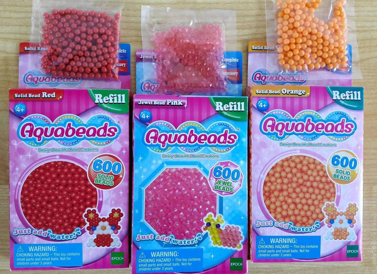 Recharge de perles Aquabeads