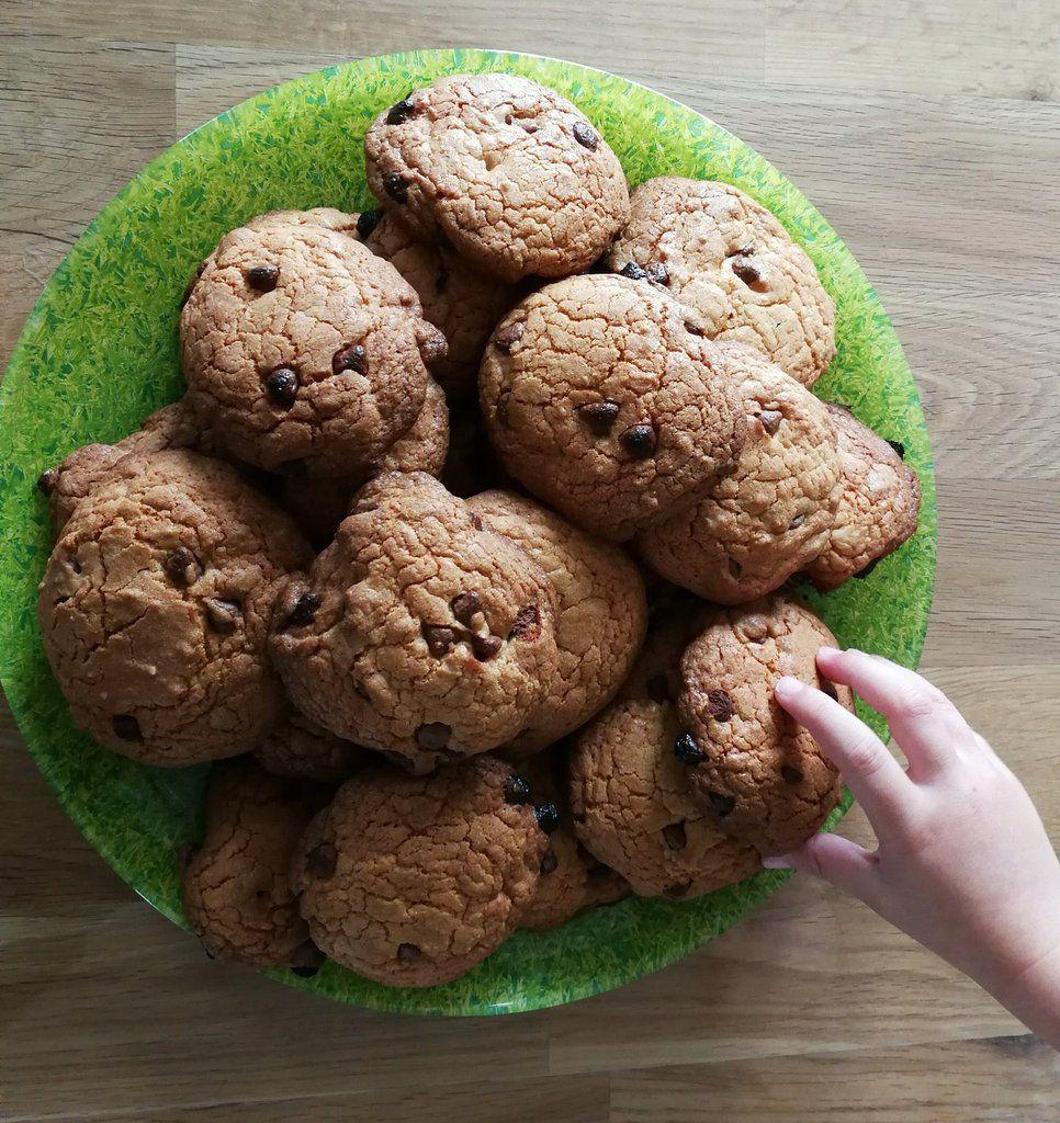 "Taddam ! Voilà nos ""gros"" cookies"