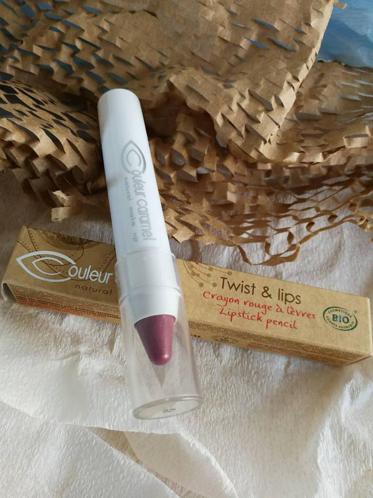 Twist and lips Couleur Caramel n° 403 rose foncé