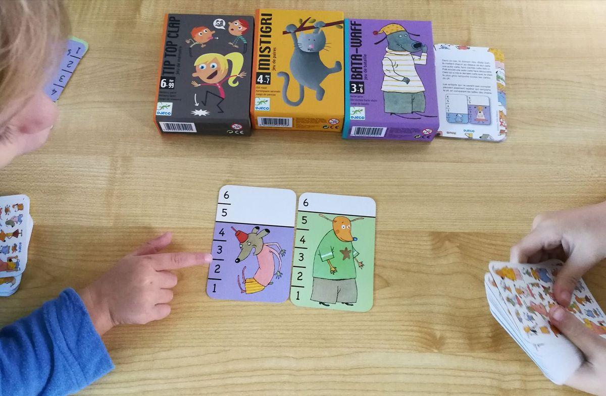 Jeux de cartes Djeco