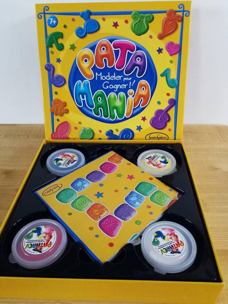 Contenu du jeu Patamania