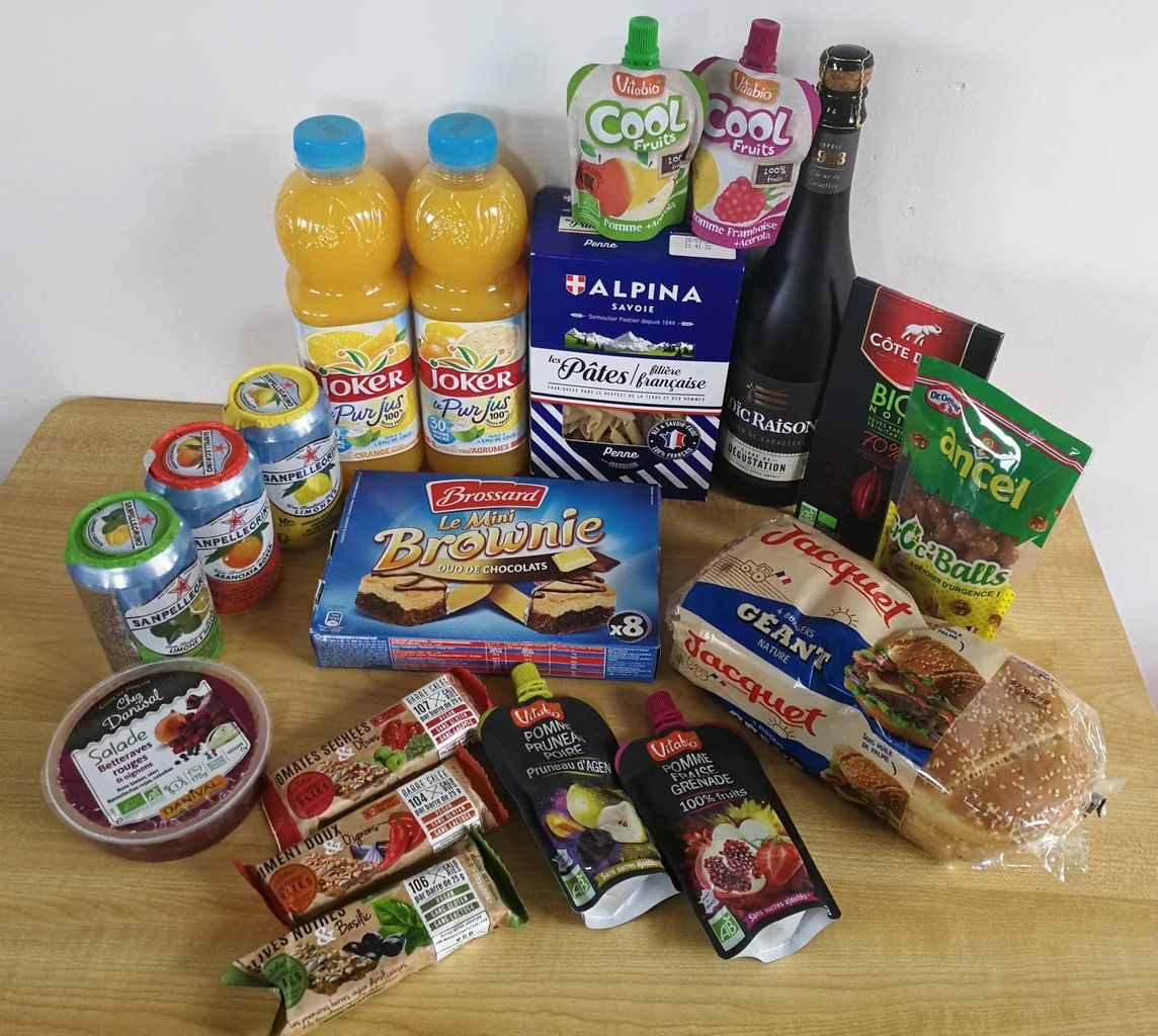 "Contenu de ma Degustabox d'avril - Box ""produits en France"""