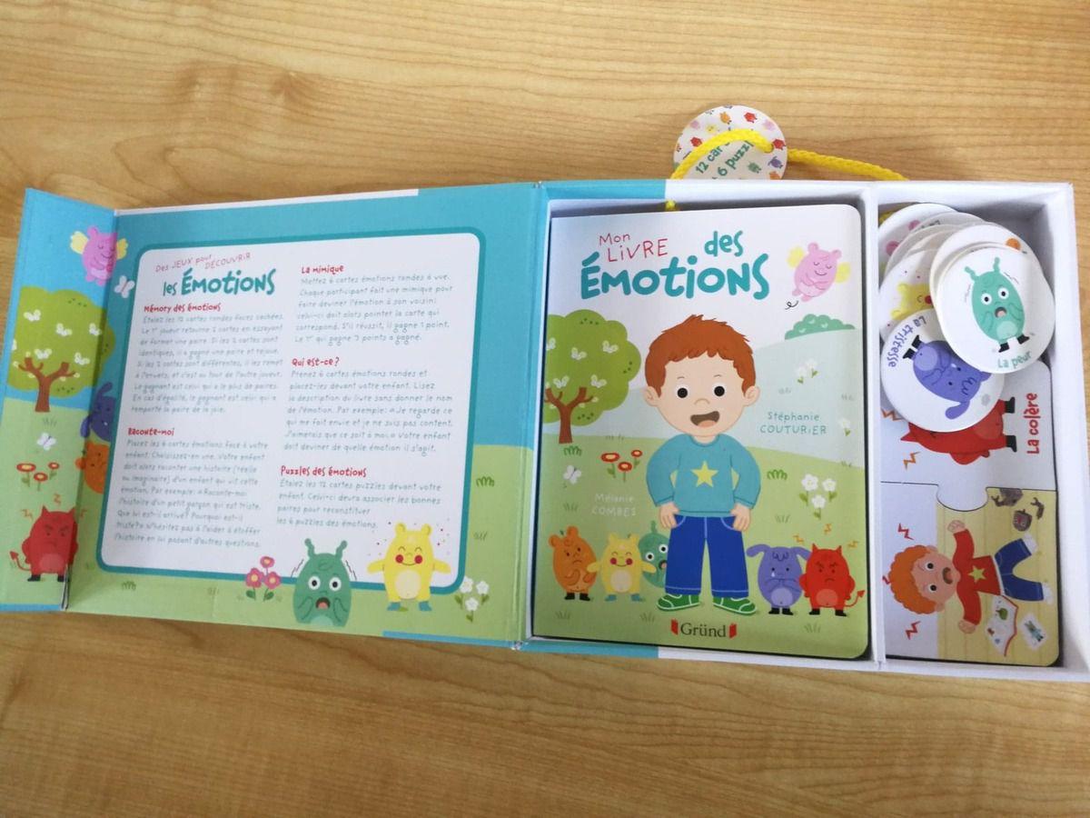 Le coffret des émotions : 5 activités dans une malette !
