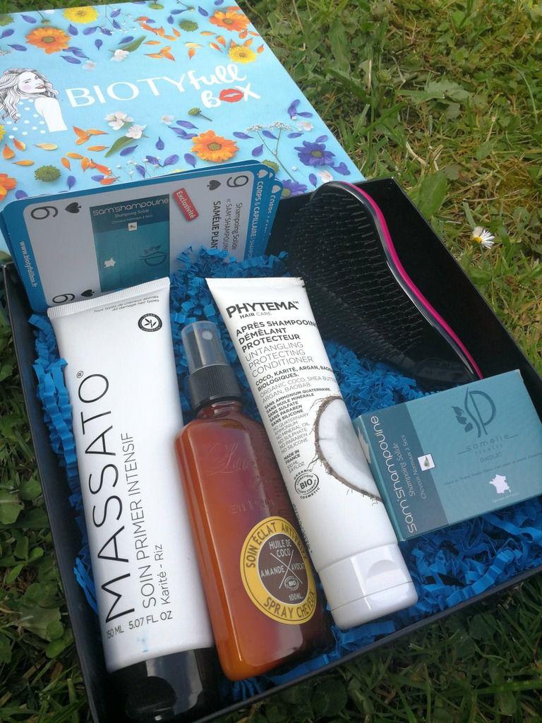 Ma Biotyfull box du mois, spéciale soin des cheveux
