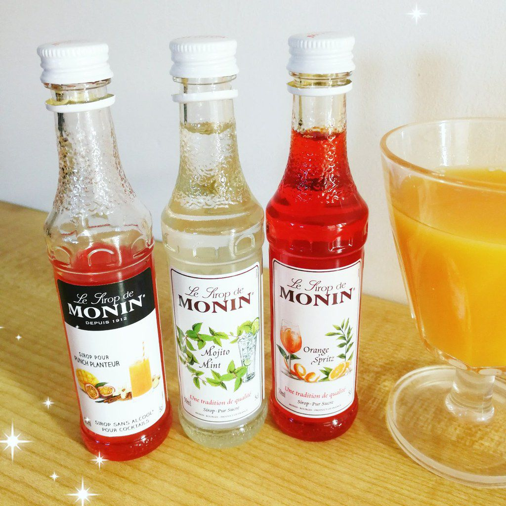 Sirops Monin - Cocktails