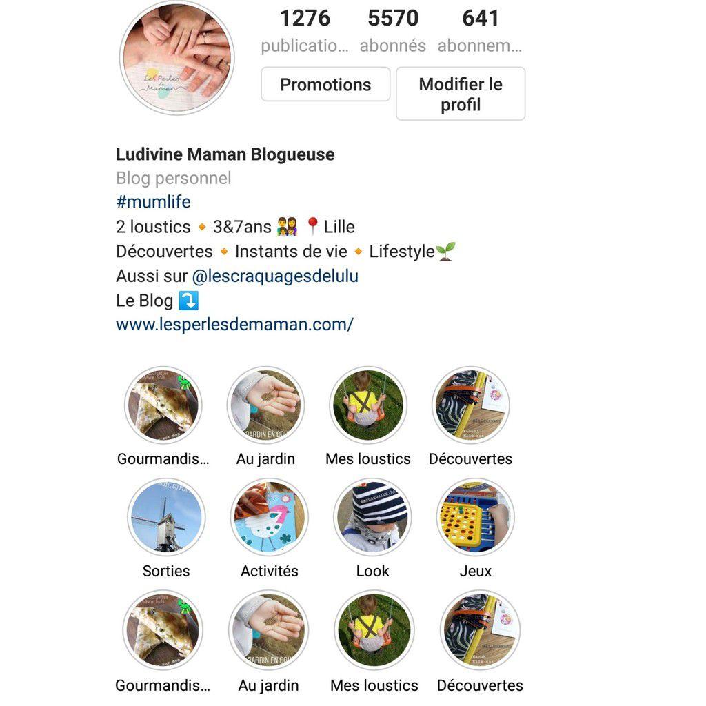 Bulles de story sur Instagram
