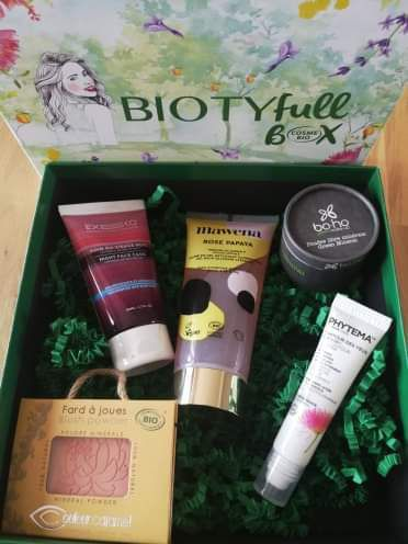 Contenu BiotyfullBox avril