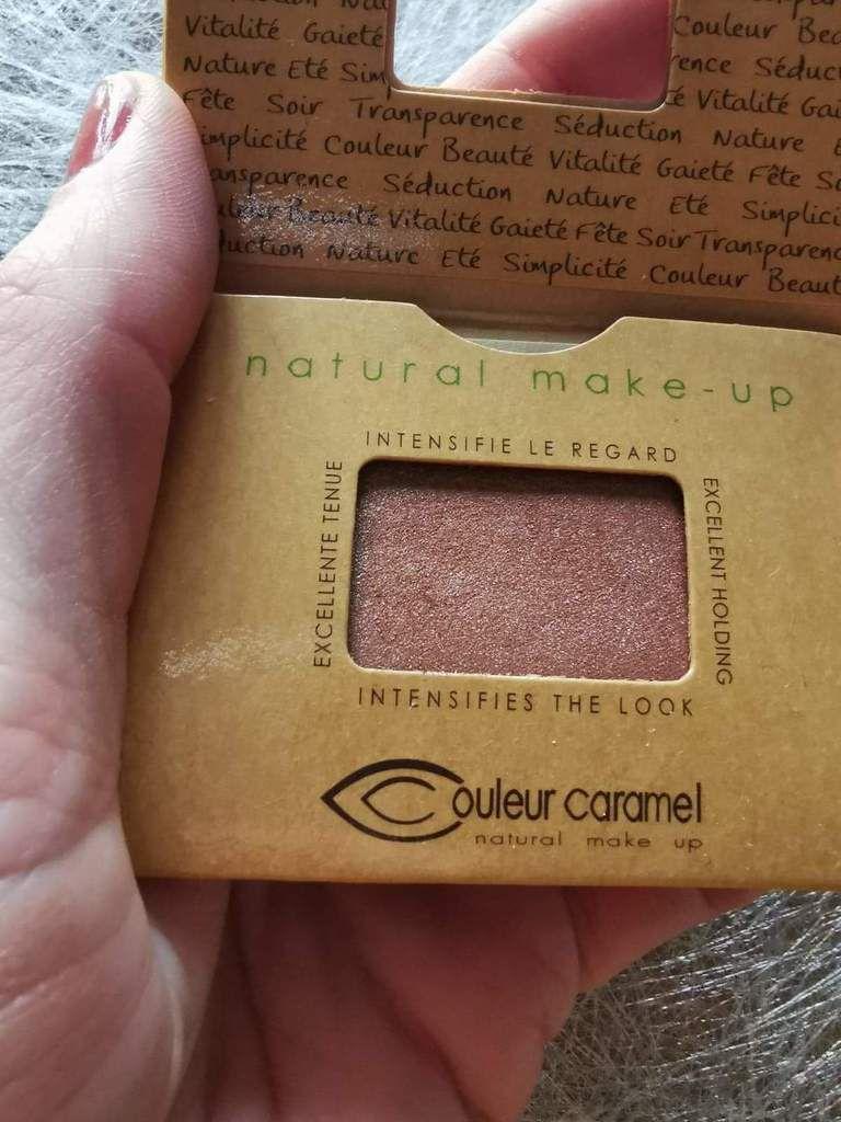 Couleur Caramel ombre à paupières teinte cuivrée n° 55