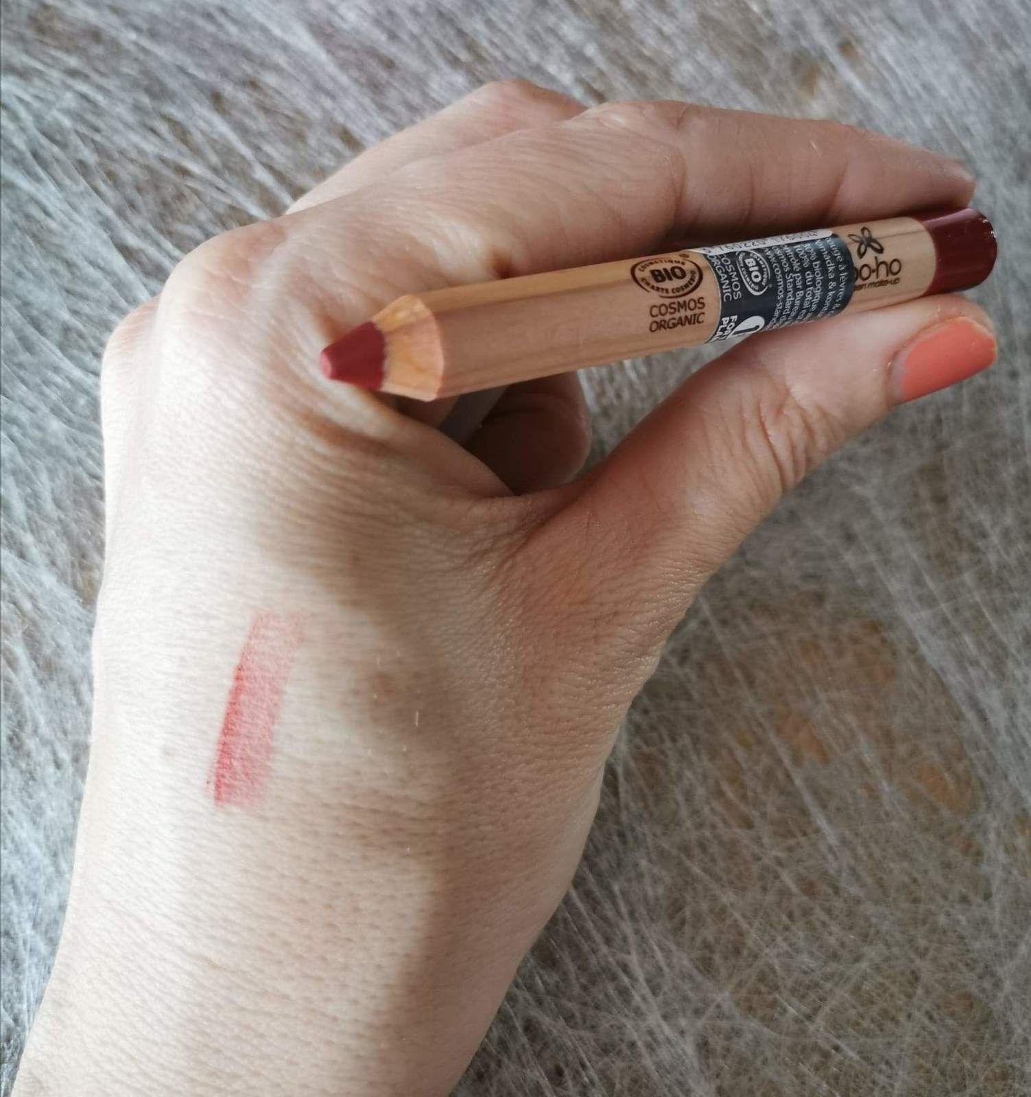 Crayon Jumbo pour les lèvres De la marque Boho green Make-up, rouge 01