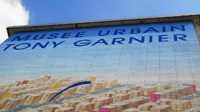 Peintures murales quartier des États-Unis à Lyon