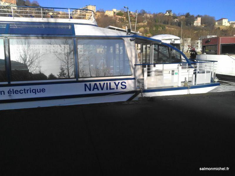 Le Navilys - Bateau à propulsion électrique