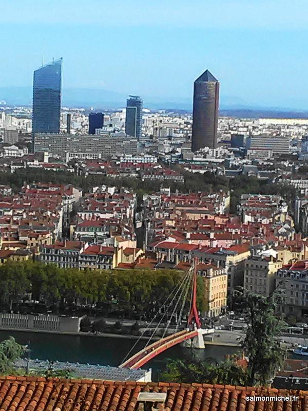 Lyon par une belle journée d'automne