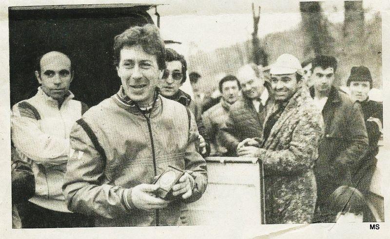 FSGT - Cyclo-cross de Genas le 7 décembre 1985 - Lyon Matin du 12/12/1985