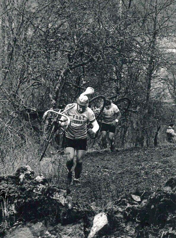 Championnat de France de Cyclo-cross à Veuvey-sur-Ouche le dimanche 7 février 1988