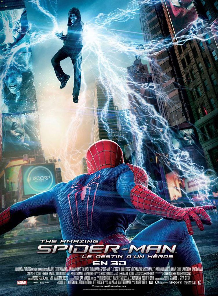 Critique : The Amazing Spider-Man - Le destin d'un héros (2014)