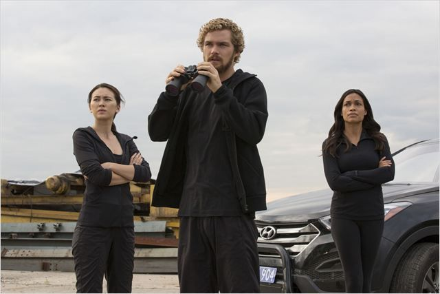 Colleen Wing, Danny Rand & Claire Temple